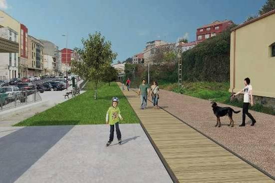 Implantación Vía Verde Vigo
